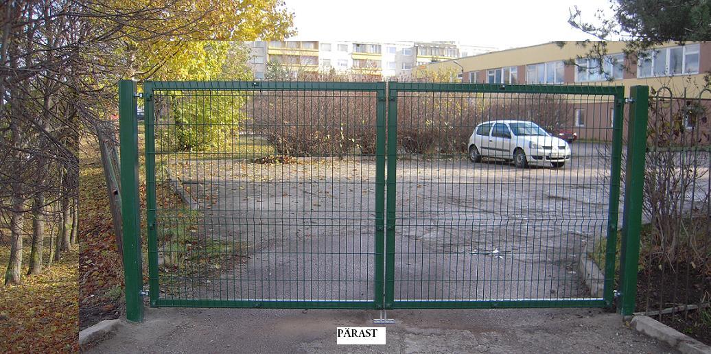 Värava paigaldus